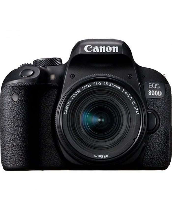 Canon EOS 800D EF-S 18-55mm f/4-5.6 IS STM + BAG + 16GB