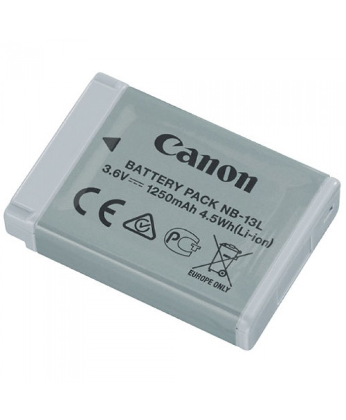 Canon NB-13L Lithium-Ion Battery Pack 3.6V, 1250mAh