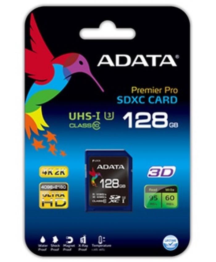 ADATA Premier Pro 128GB SDXC UHS-I U3 Class 10