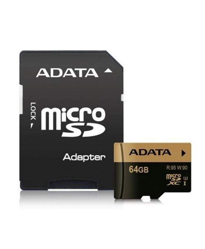 ADATA XPG 64GB microSDXC/SDHC UHS-I U3 Class 10