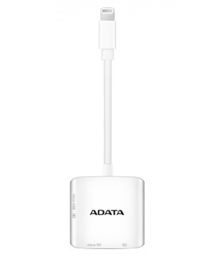 ADATA Lightning Card Reader AI910 for Iphone / Ipad / Ipod / Android