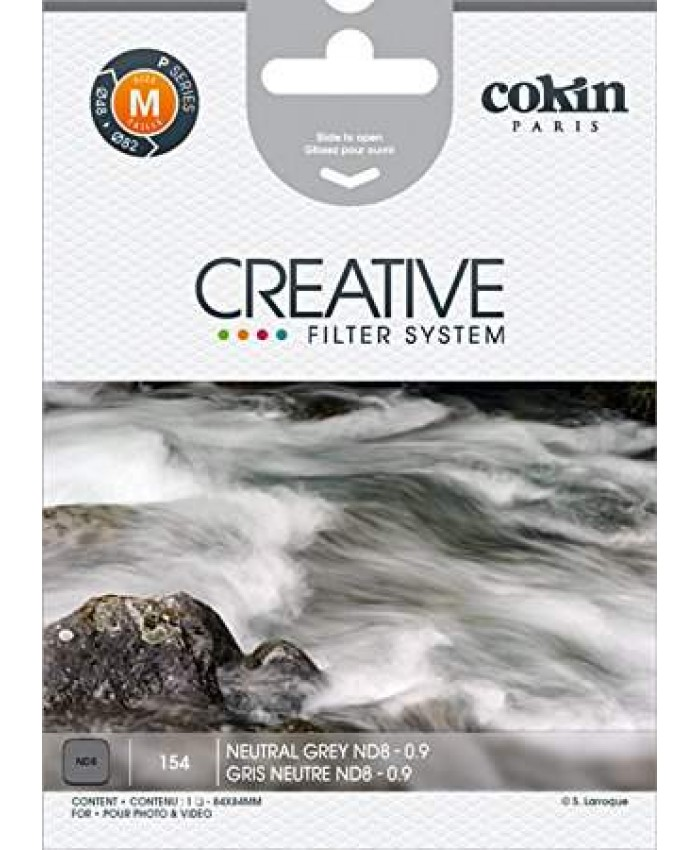 Cokin P154 Neutral Grey ND8X Square Filter