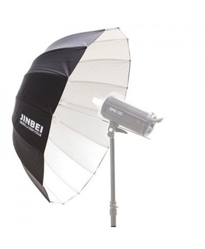 "Jinbei Deep Umbrella White 41"" inch"