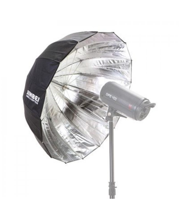 Jinbei Deep Umbrella Φ85 Black/Silver