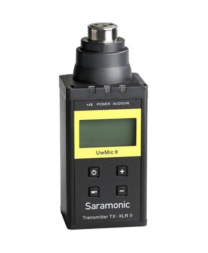 Saramonic TX-XLR9 Plug-On XLR Transmitter for UwMic9 UHF Wireless Mic System 514 to 596 MHz