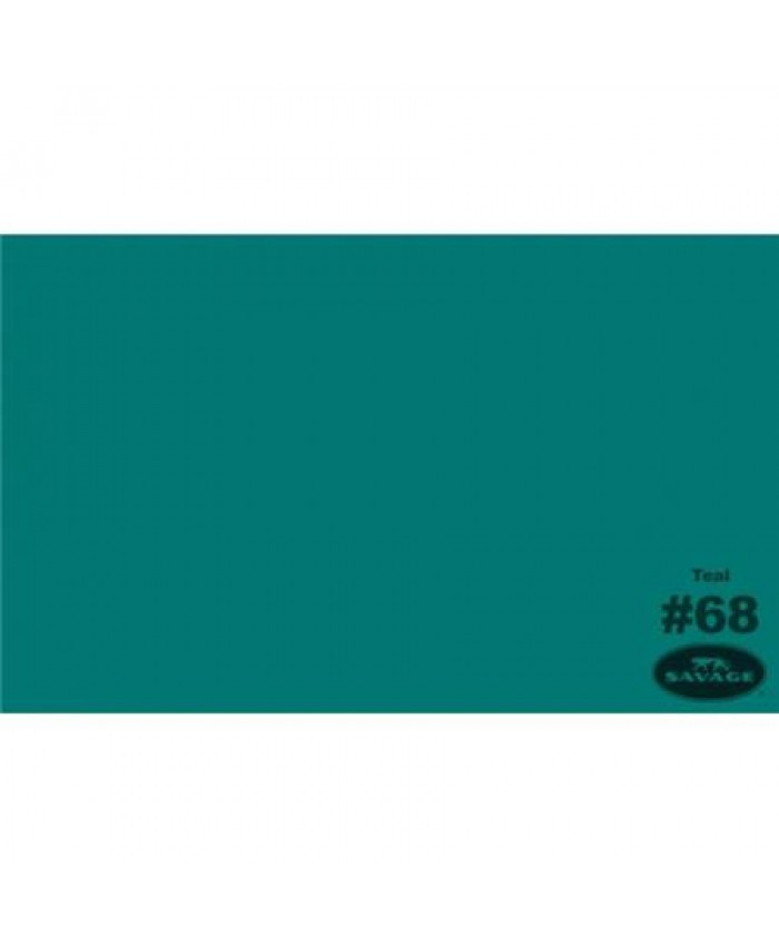 Savage Widetone Seamless Background Paper #68 Teal 2.7m