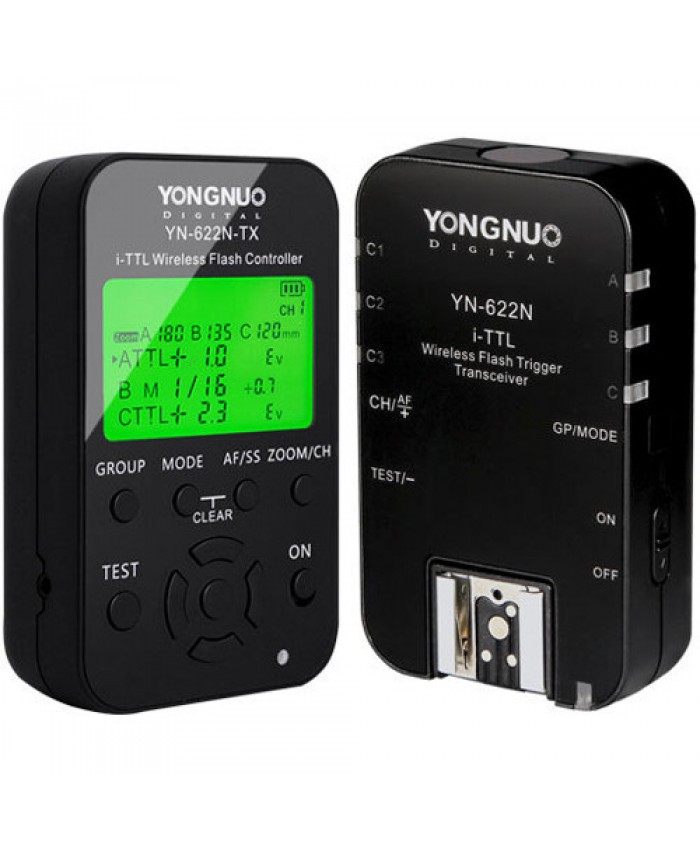Yongnuo YN-622C KIT i-TTL Wireless Flash Transceiver & TX Controller Kit for Canon