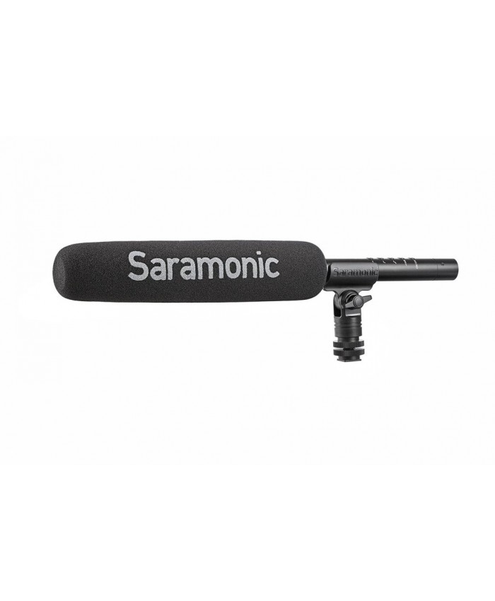 Saramonic SR-TM7 - Super-Cardioid Broadcast XLR Shotgun Condenser Microphone with Built-in Rechargeable Battery