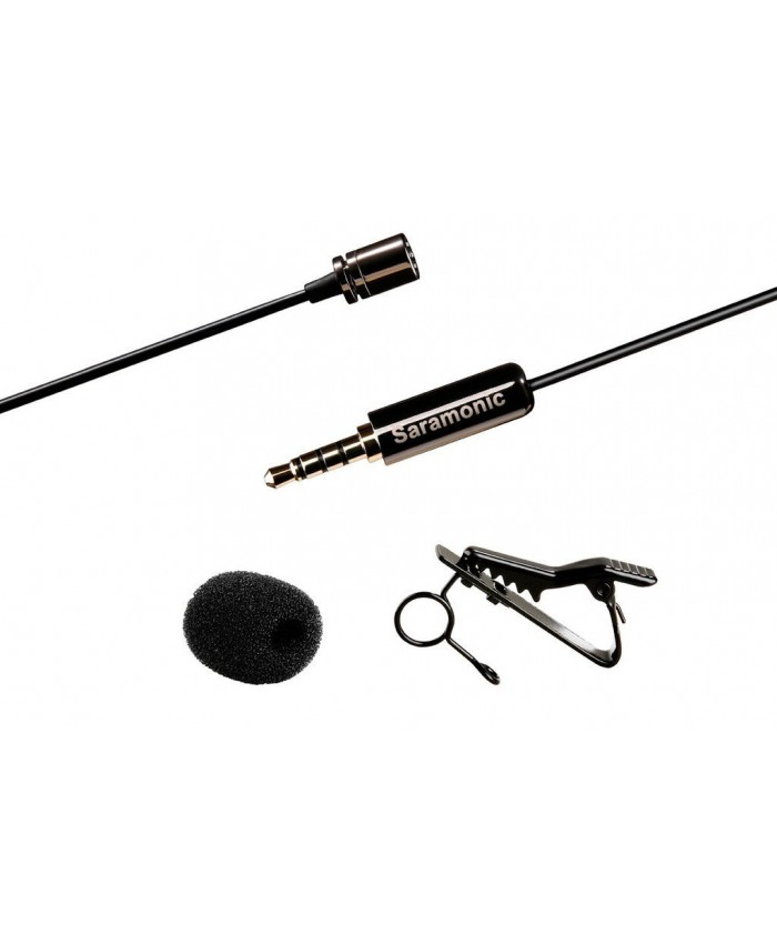 SR-LMX1 - Lavalier Microphone for iPhone and Smartphones