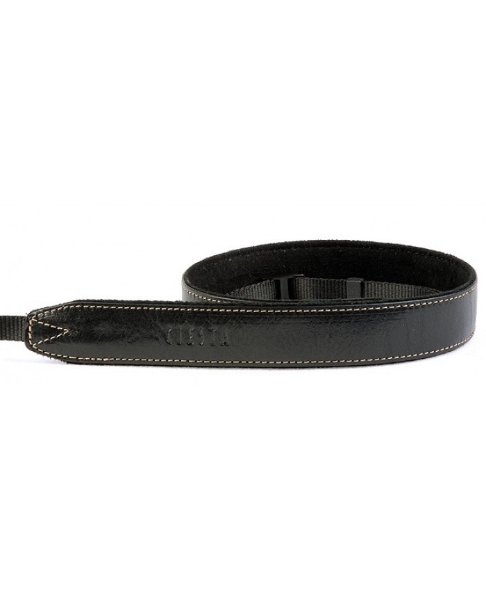Leather Camera Strap Black