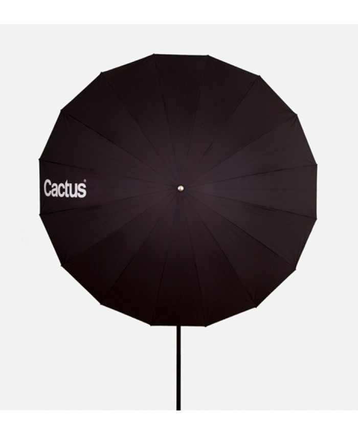 "Cactus Fiberglass 60"" Black/White Reflector Umbrella F-603"