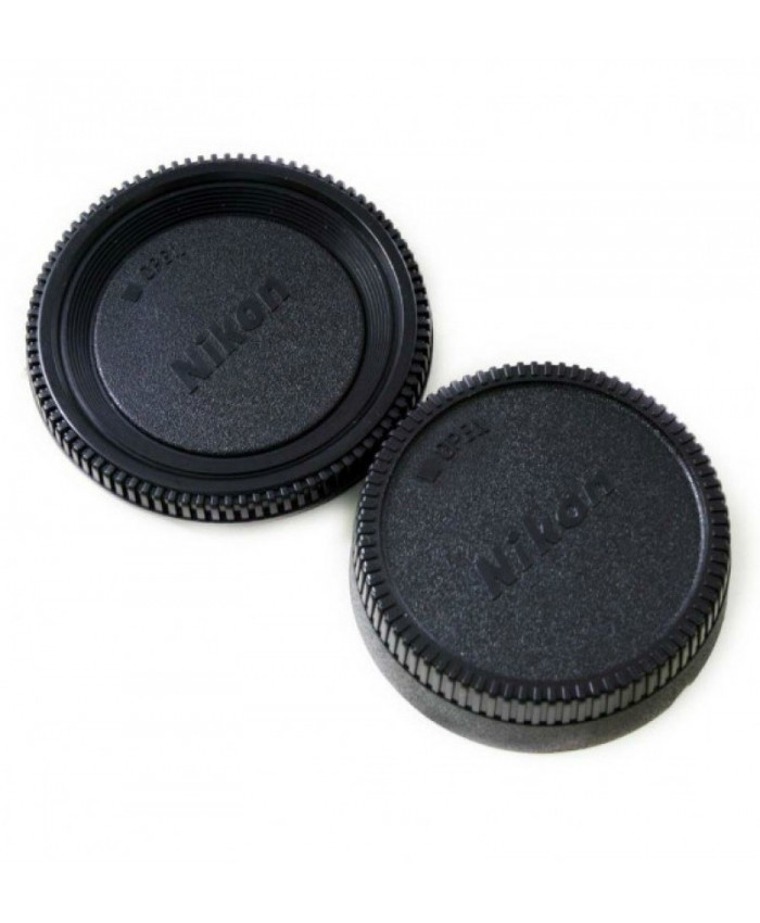 Body & Rear Lens Cap for Nikon