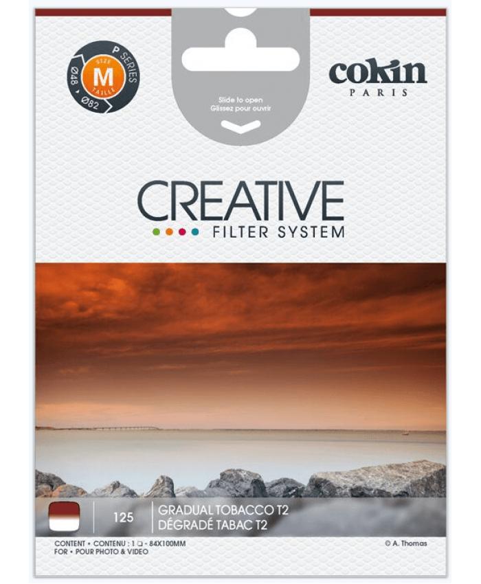 Cokin P125 Gradual Tobacco T2 Filter