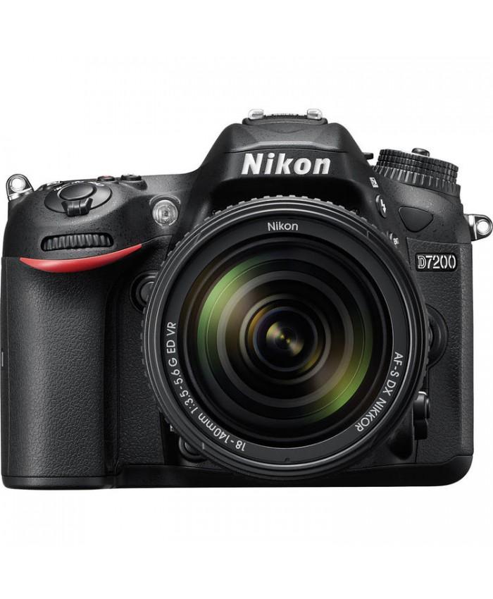 Nikon D7200 Kit 18-140 VR +16GB