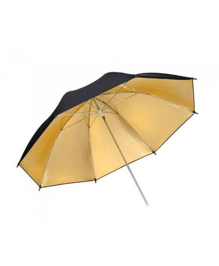 Weifeng Umbrella Black/Golden -33 Inch