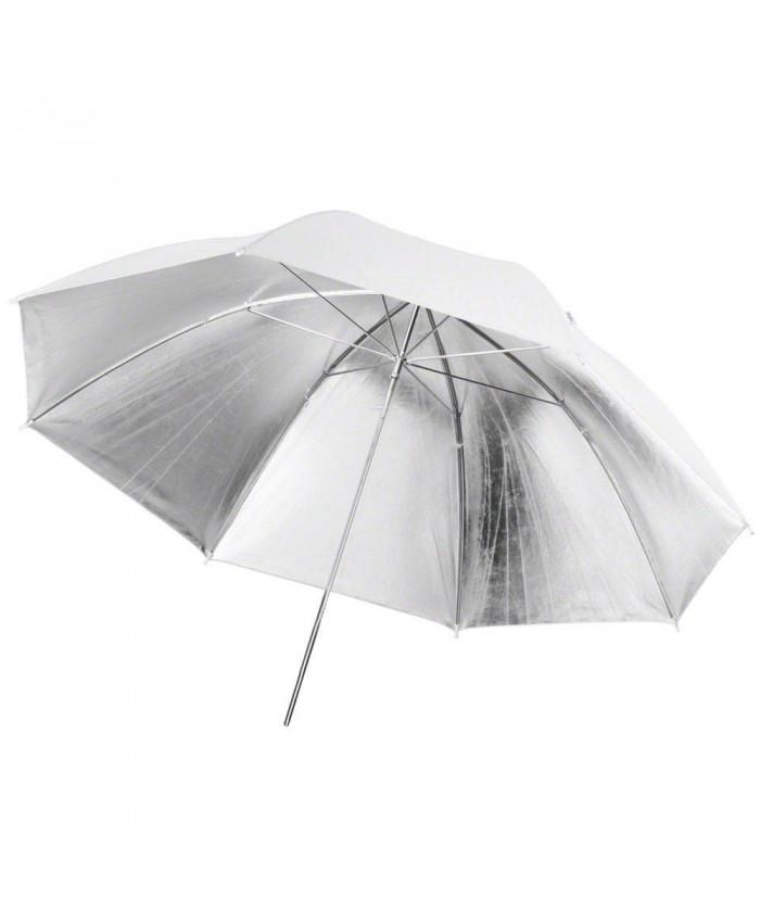 Weifeng Umbrella UR02 White/Silver-33 inch