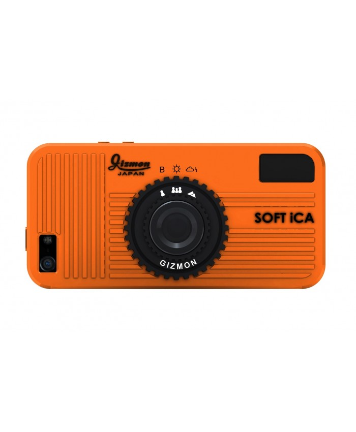 GIZMON SOFT iCA ORANGE iPhone5/5S