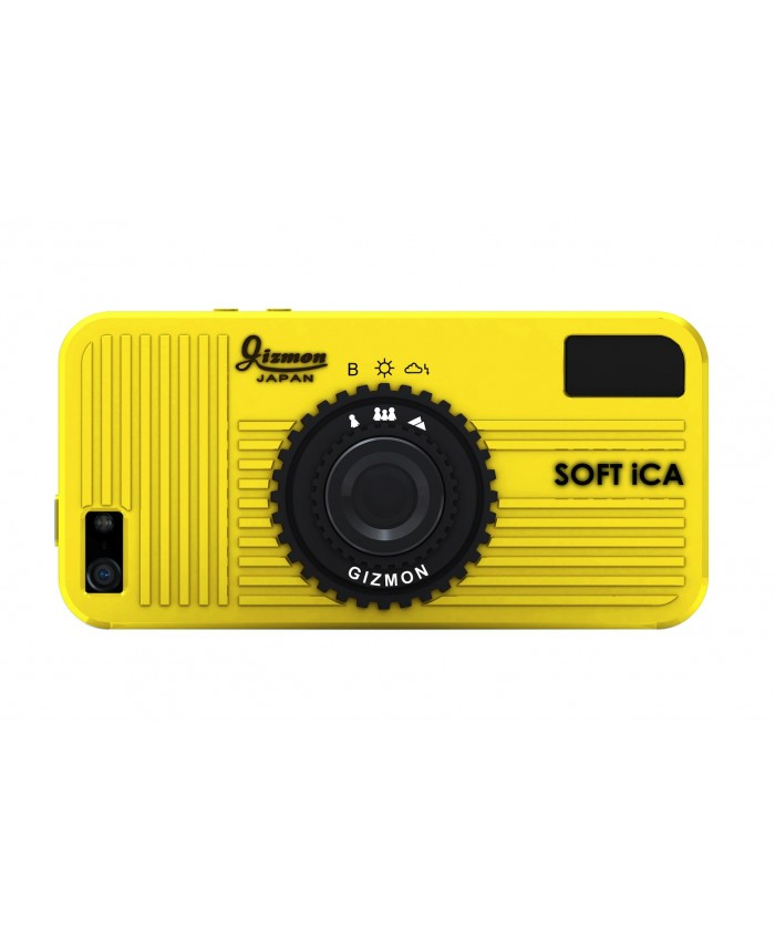 GIZMON SOFT iCA YELLOW iPhone5/5S