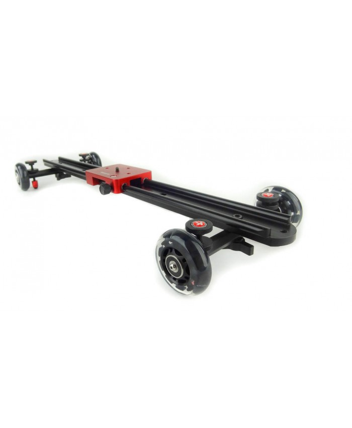 KAMERAR Video Camera Slider Dolly 60cm