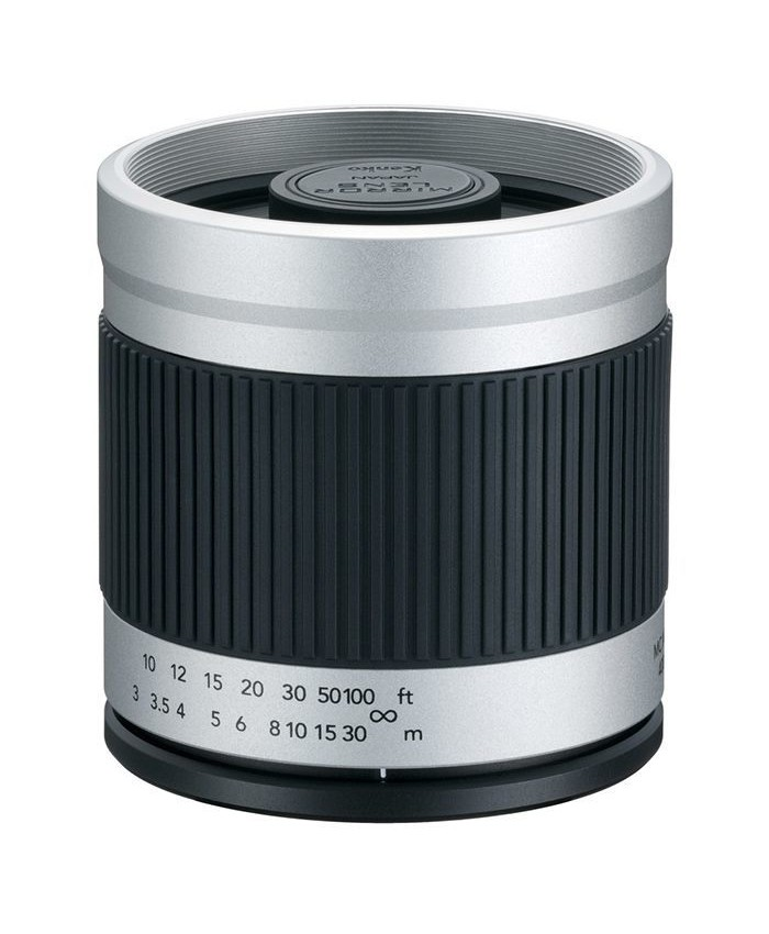 Kenko 400mm f/8.0 Mirror Lens For Canon - White