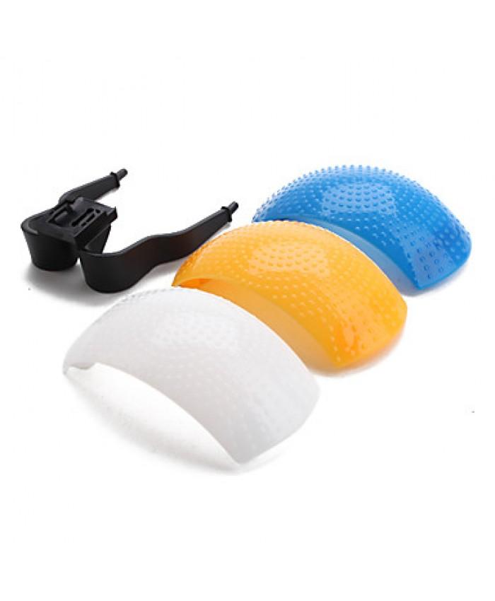 3 Color Pop up Flash Diffuser