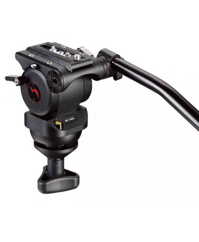 Nest 740H Fluid Video Tripod head