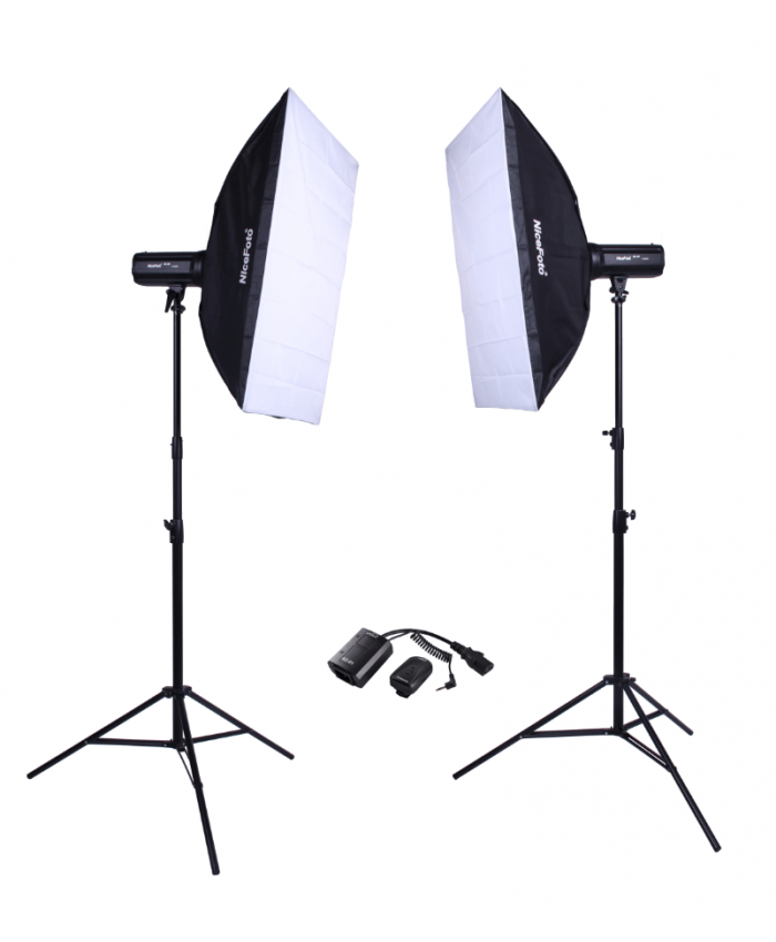 NiceFoto Studio Flash kit KT-417