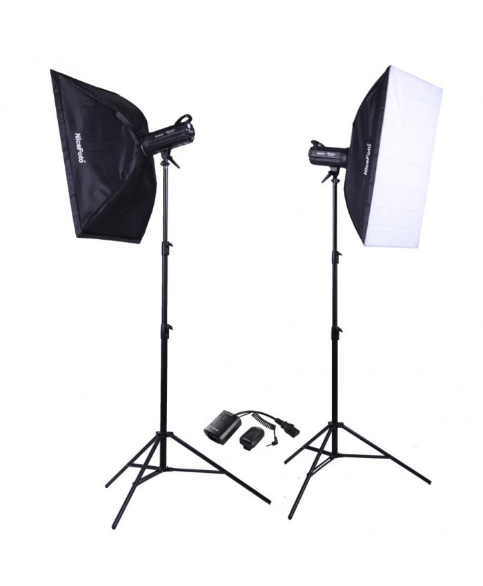 NiceFoto Studio Flash kit KT-421