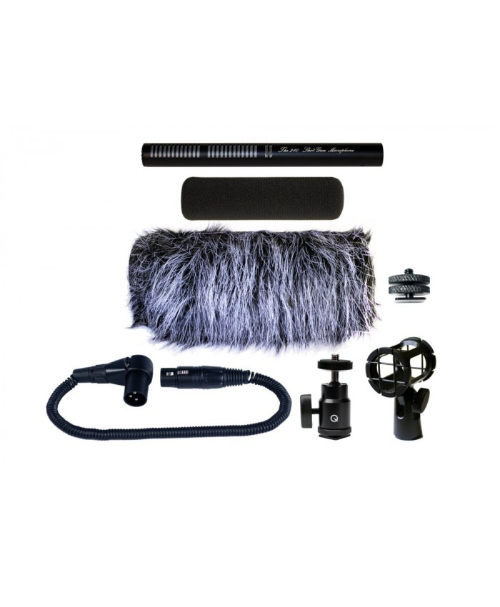 Que 210 Video Shotgun Microphone Kit