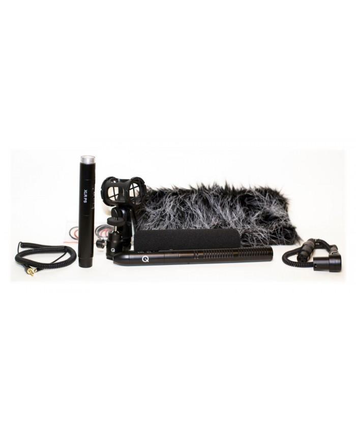 Que 210 Hybrid Shotgun Microphone Kit