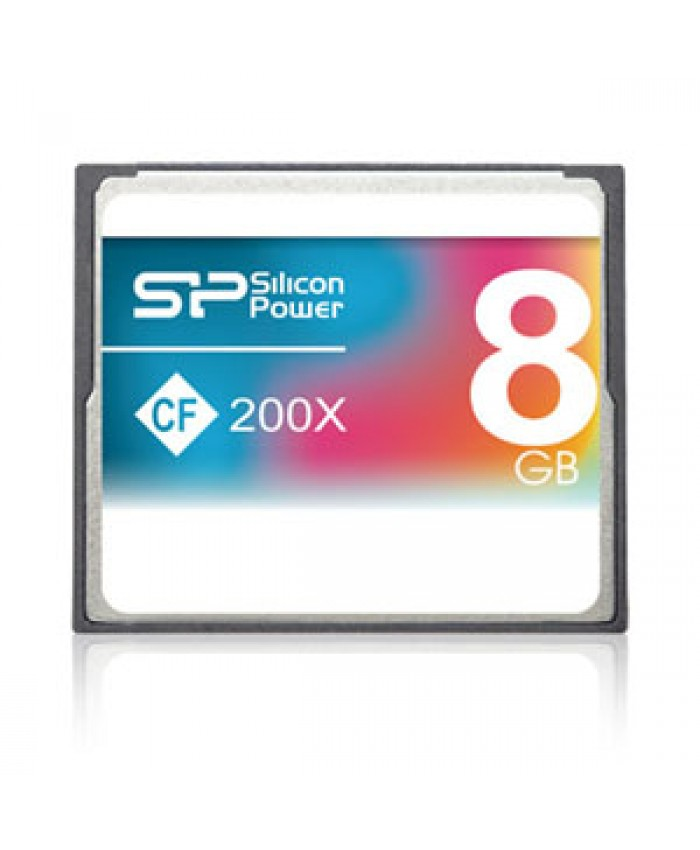 Silicon Power Compact 8GB 200X