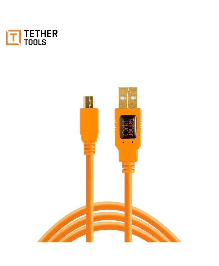 Tether Tools TetherPro USB 2.0 Type-A to 5-Pin Mini-USB Cable 1.8m CU5407