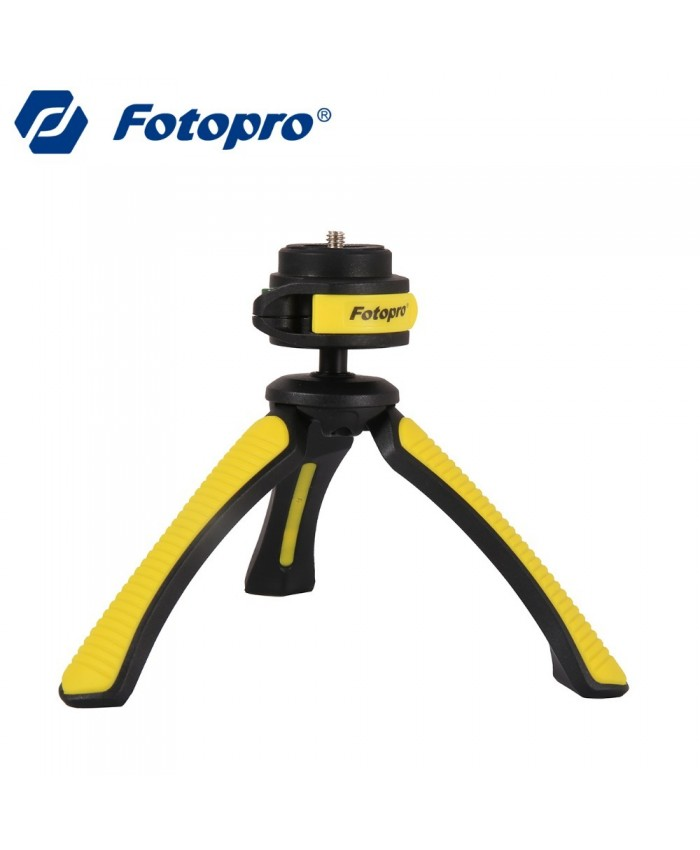 Fotopro Flexible Mini Tripod SY310 Yellow