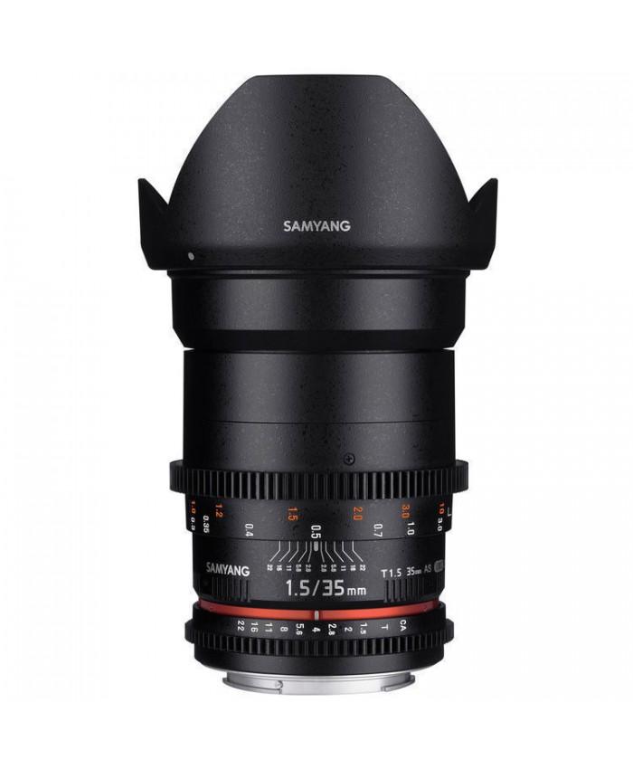Samyang 35mm T1.5 VDSLR II Canon