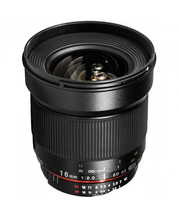 Samyang 16mm f/2.0 ED AS UMC CS for Canon