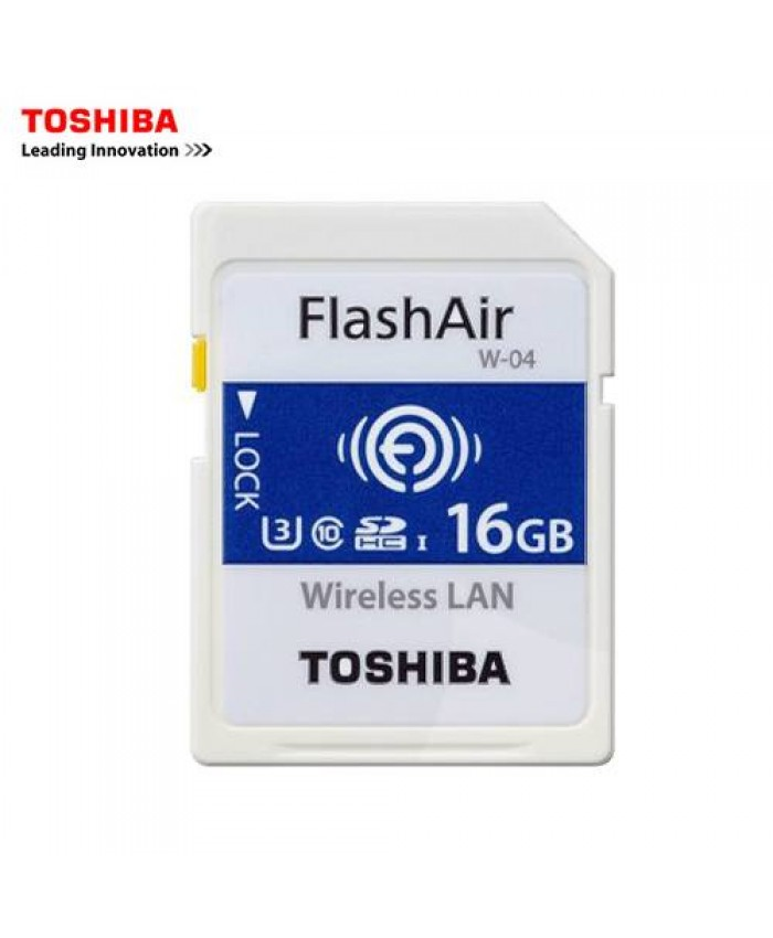 Toshiba FlashAir 16GB wifi SDHC