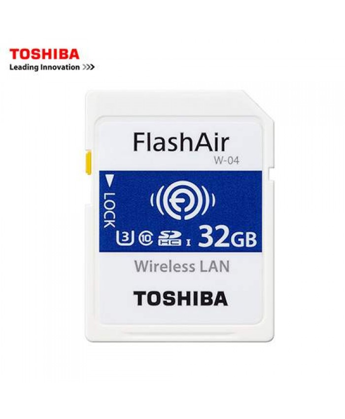 Toshiba FlashAir 32GB wifi SDHC