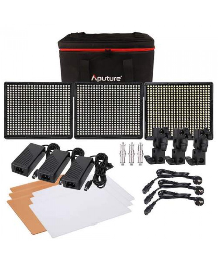 Aputure Amaran 528 LED Video Light Kit WWS