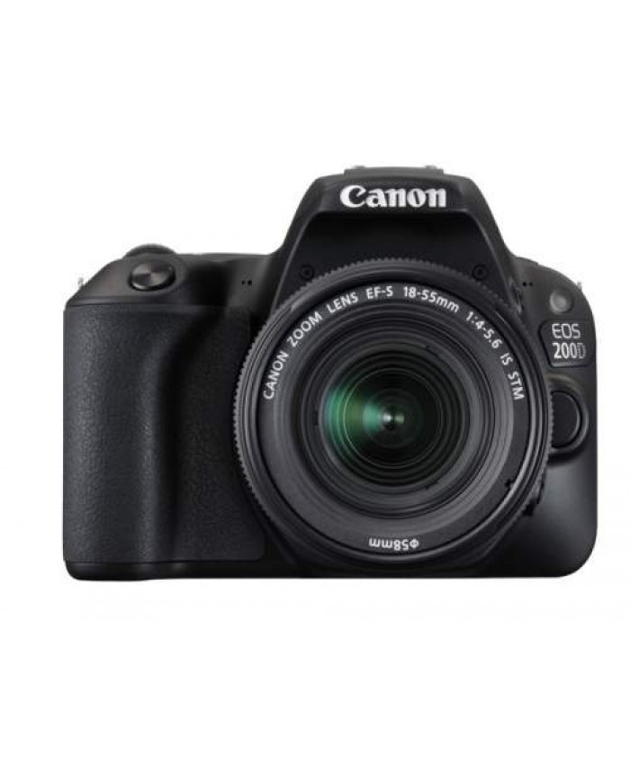 Canon EOS 200D EF-S 18-55mm f/4-5.6 IS STM + BAG + 16GB