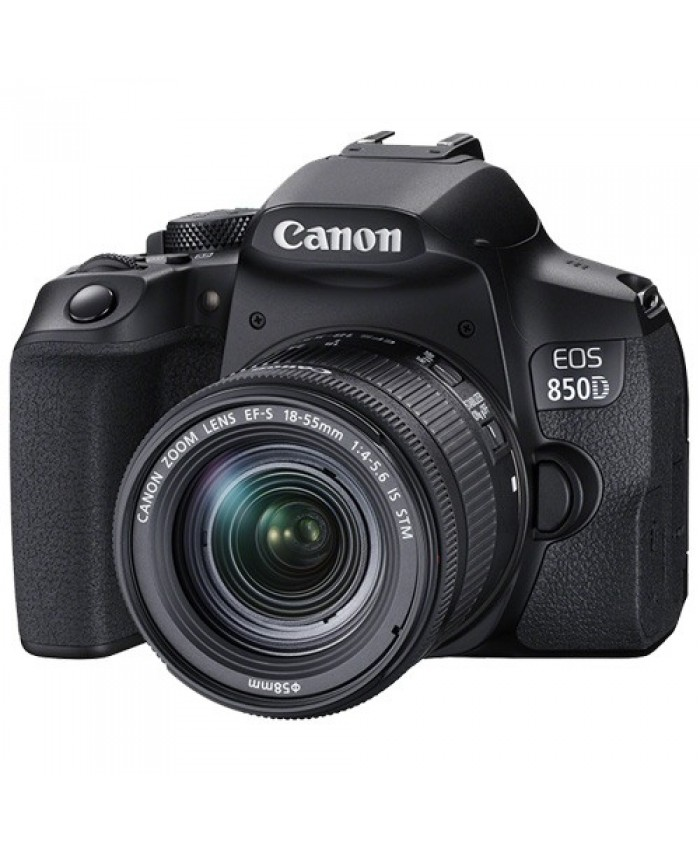 Canon EOS 850D DSLR Camera with 18-55mm Lens