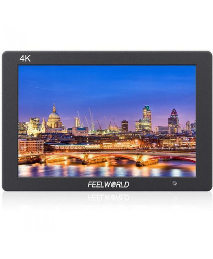 """FeelWorld 7"""" T7 IPS 4K HDMI On-Camera Aluminum Monitor"""