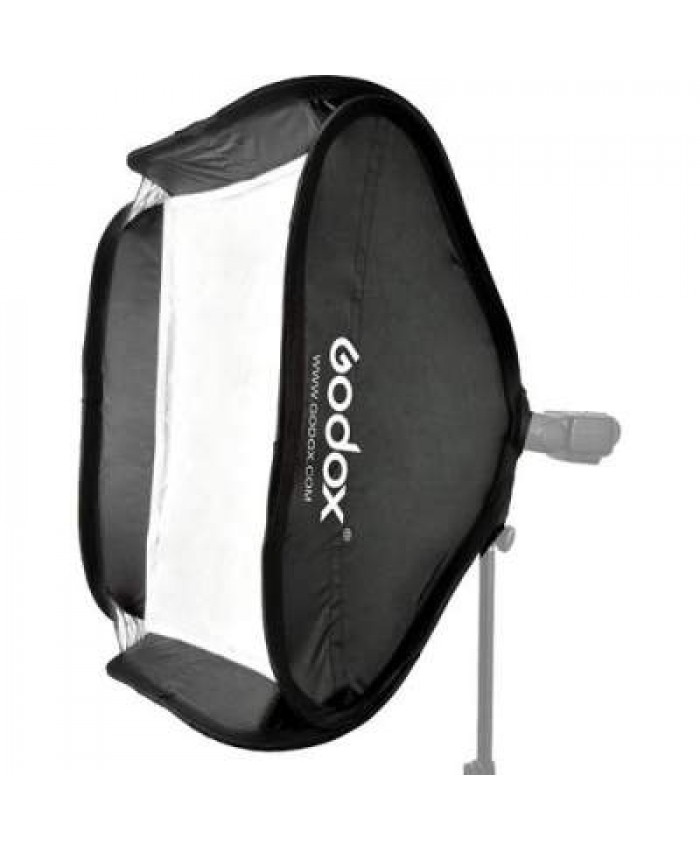 Godox S-Type bracket + Softbox + Bag 50 X 50 CM