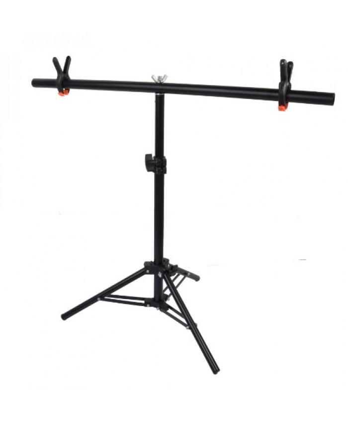 Jinbei PVC Backdrop Stand System T- Frame With 2PCS  Clamp