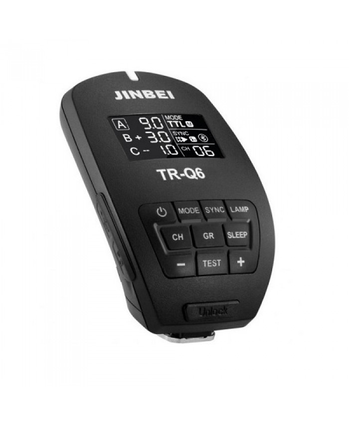 Jinbei TR-Q6C Bluetooth Smart Transmitter for Nikon