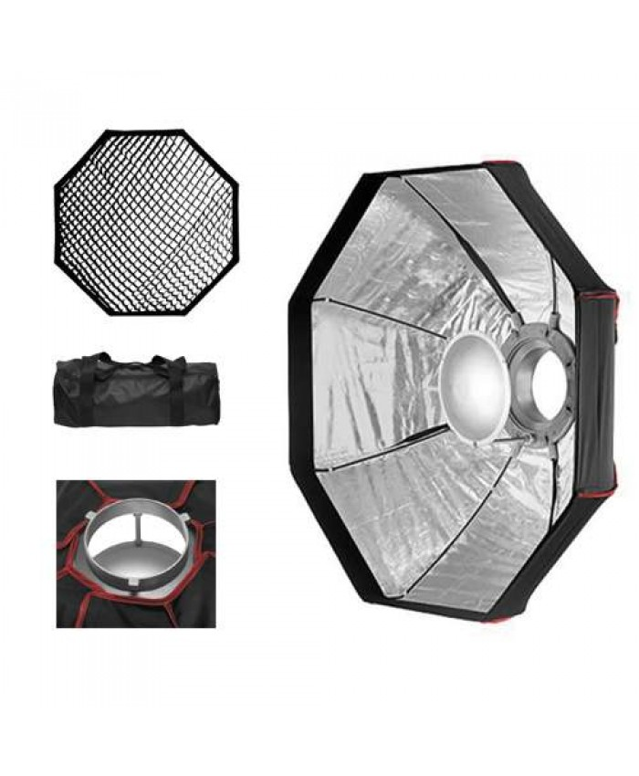 JINBEI BD-60 Foldable Beauty Dish Silver