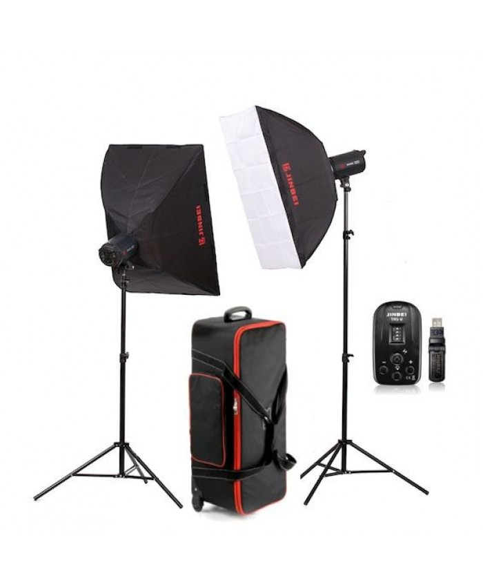Jinbei Spark II-400 Studio Flash Kit