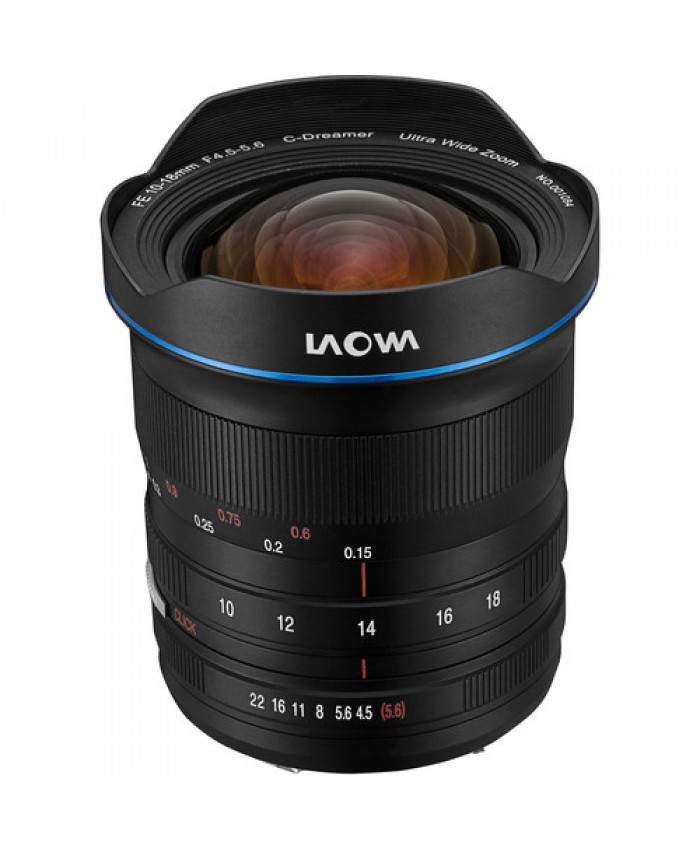 Laowa 10-18mm f/4.5-5.6 FE Zoom Lens for Sony FE