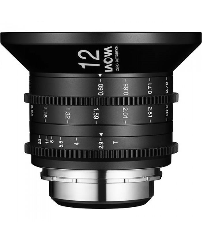 Laowa 12mm T2.9 Zero-D Cine Lens Sony FE