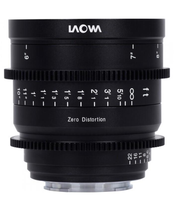 Laowa 15mm T2.1 Zero-D Cine Lens - (Meters, Cine) Canon RF