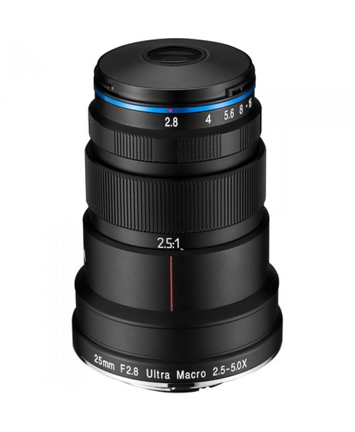 Laowa 25mm f/2.8 Ultra Macro 5x lens - Sony FE